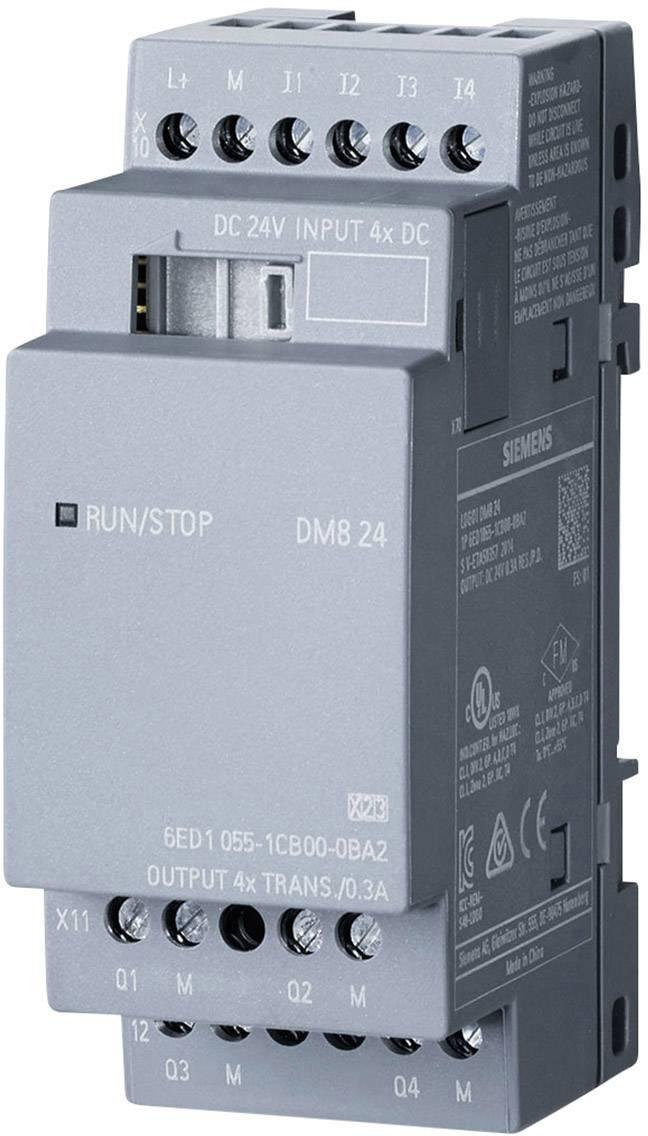 Rozšiřující modul pro PLC Siemens LOGO! DM8 24 0BA2 6ED1055-1CB00-0BA2, 24 V/DC
