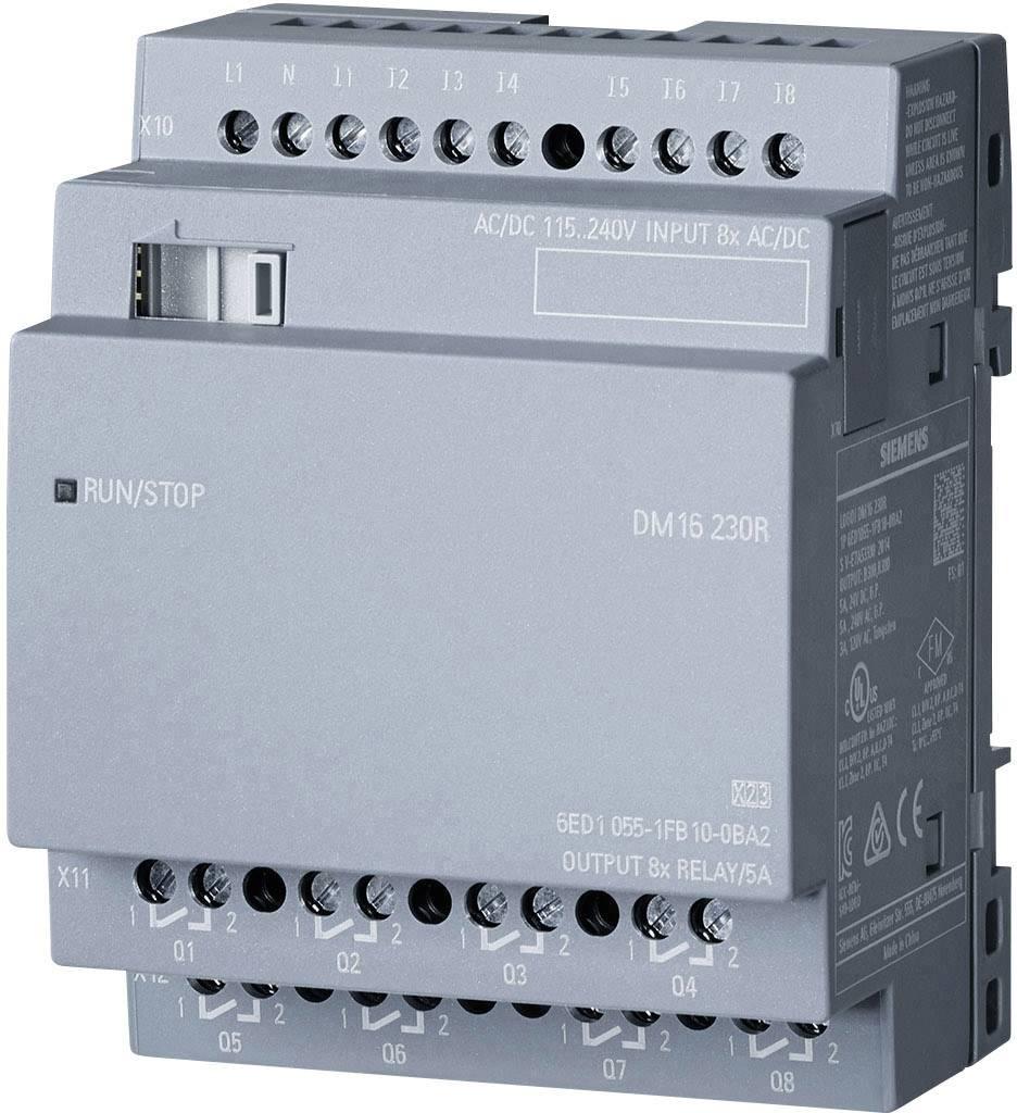 PLC rozširujúci modul Siemens LOGO! 6ED1055-1FB10-0BA2, 115 V/AC, 230 V/AC, 115 V/DC, 230 V/DC