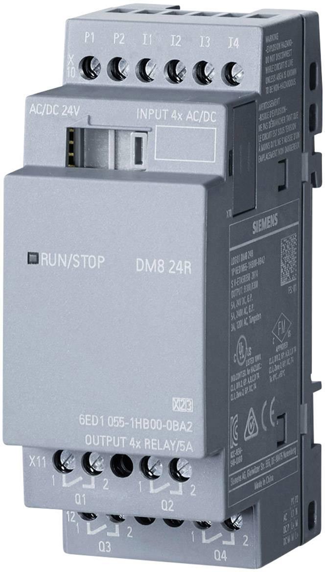 Rozšiřující modul pro PLC Siemens LOGO! DM8 24R 0BA2 6ED1055-1HB00-0BA2, 24 V/DC