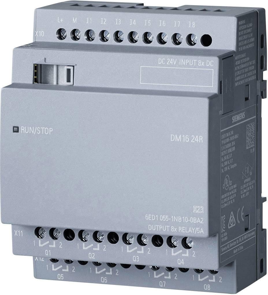 Rozšiřující modul pro PLC Siemens LOGO! DM16 24R 0BA2 6ED1055-1NB10-0BA2