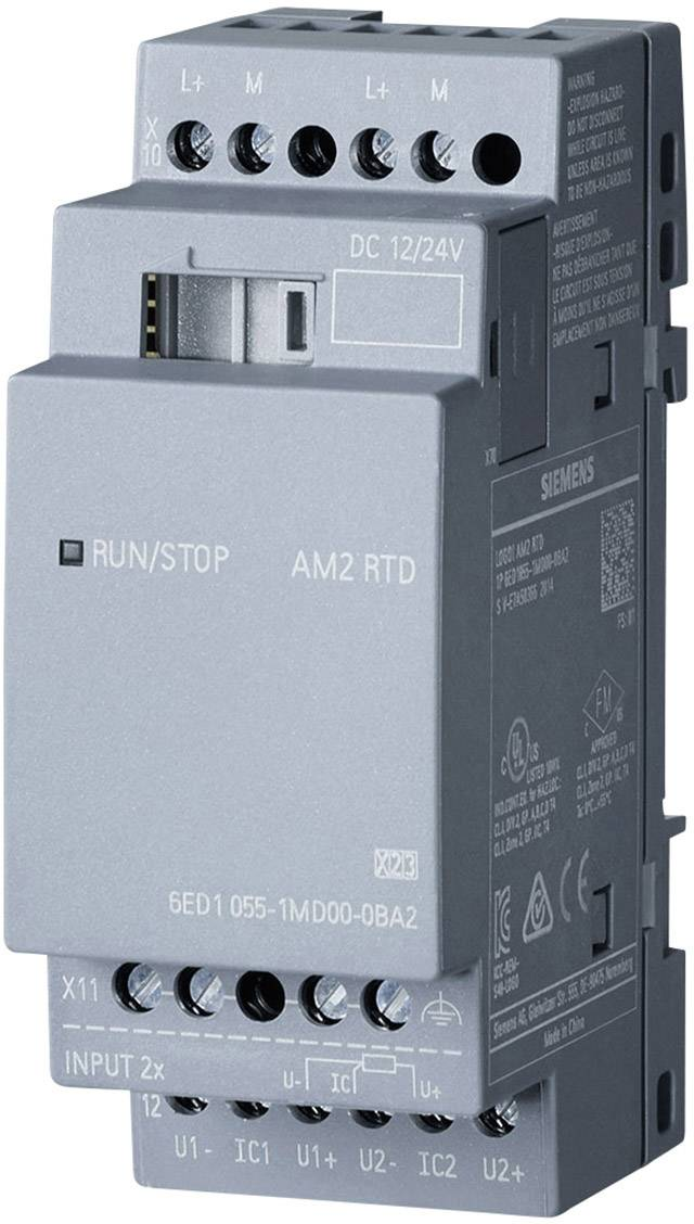 PLC rozširujúci modul Siemens LOGO! 6ED1055-1MD00-0BA2, 12 V/DC, 24 V/DC