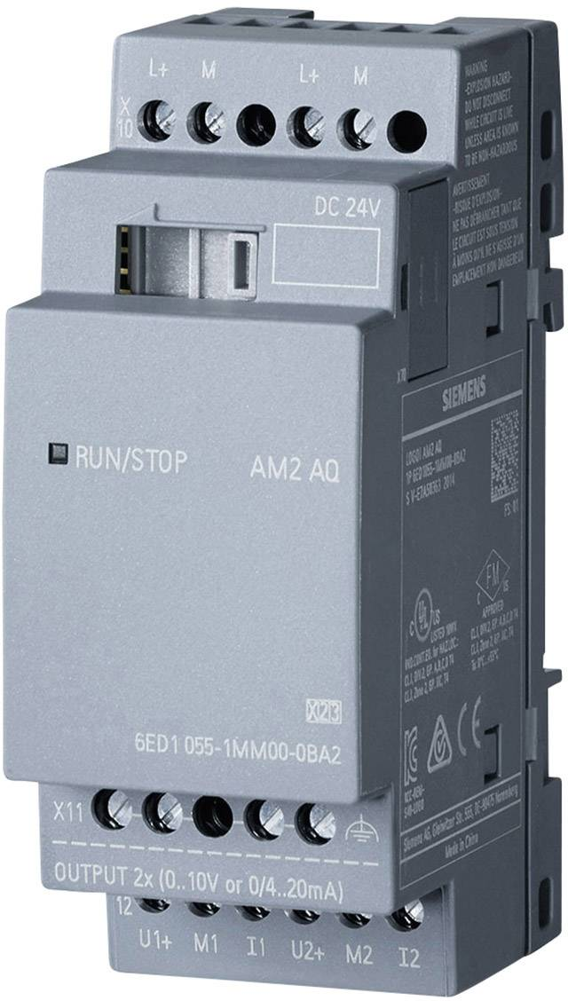 PLC rozširujúci modul Siemens LOGO! 6ED1055-1MM00-0BA2, 24 V/DC
