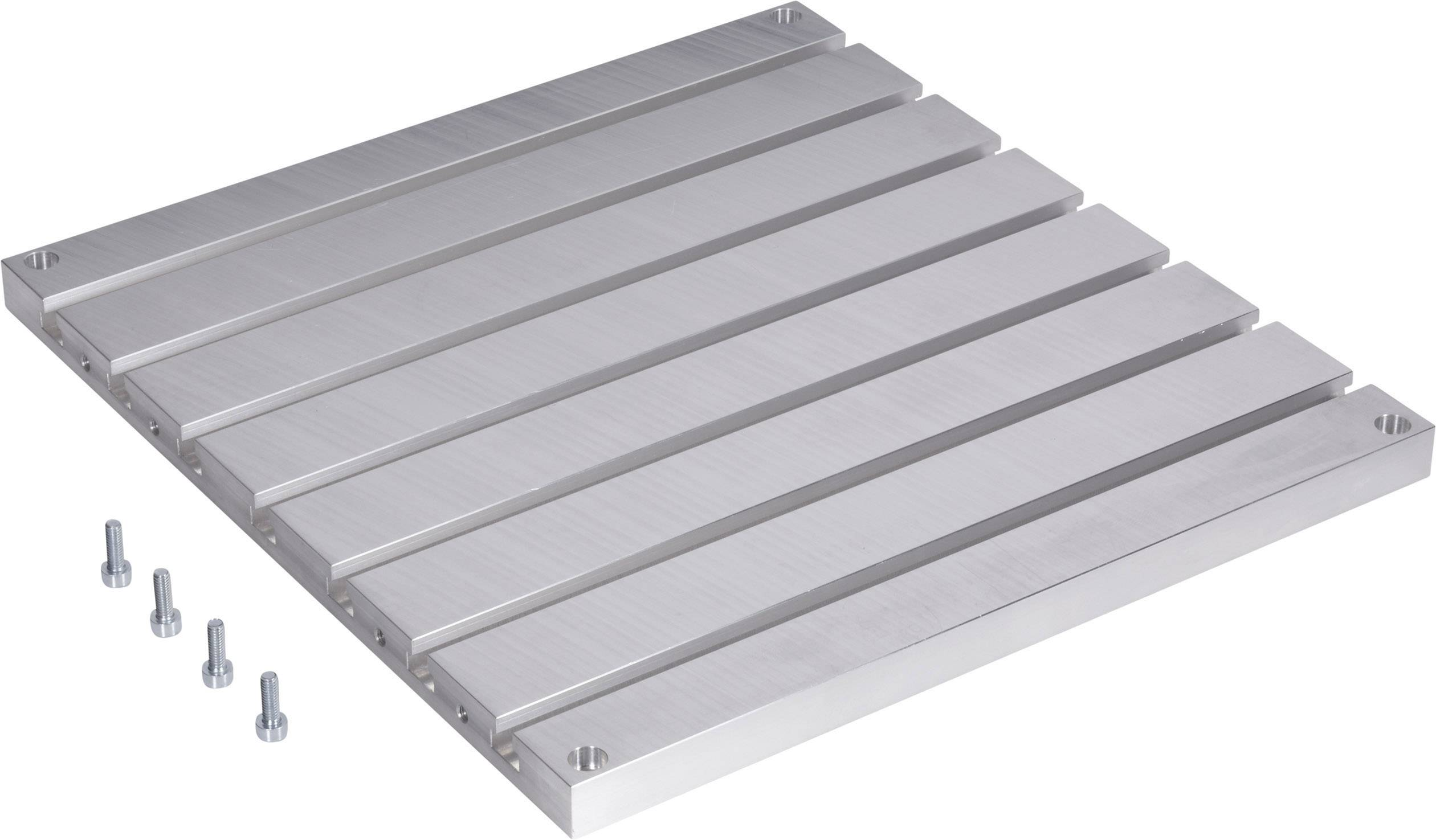 Hliníkový frézovací drážkový stůl vhodný pro 3D tiskárnu renkforce RF1000