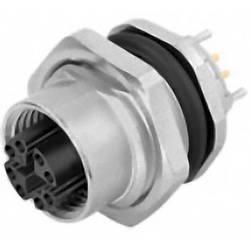 Vestavný zástrčkový konektor pro senzory - aktory Binder 09 3782 91 08 zásuvka, vestavná, 1 ks