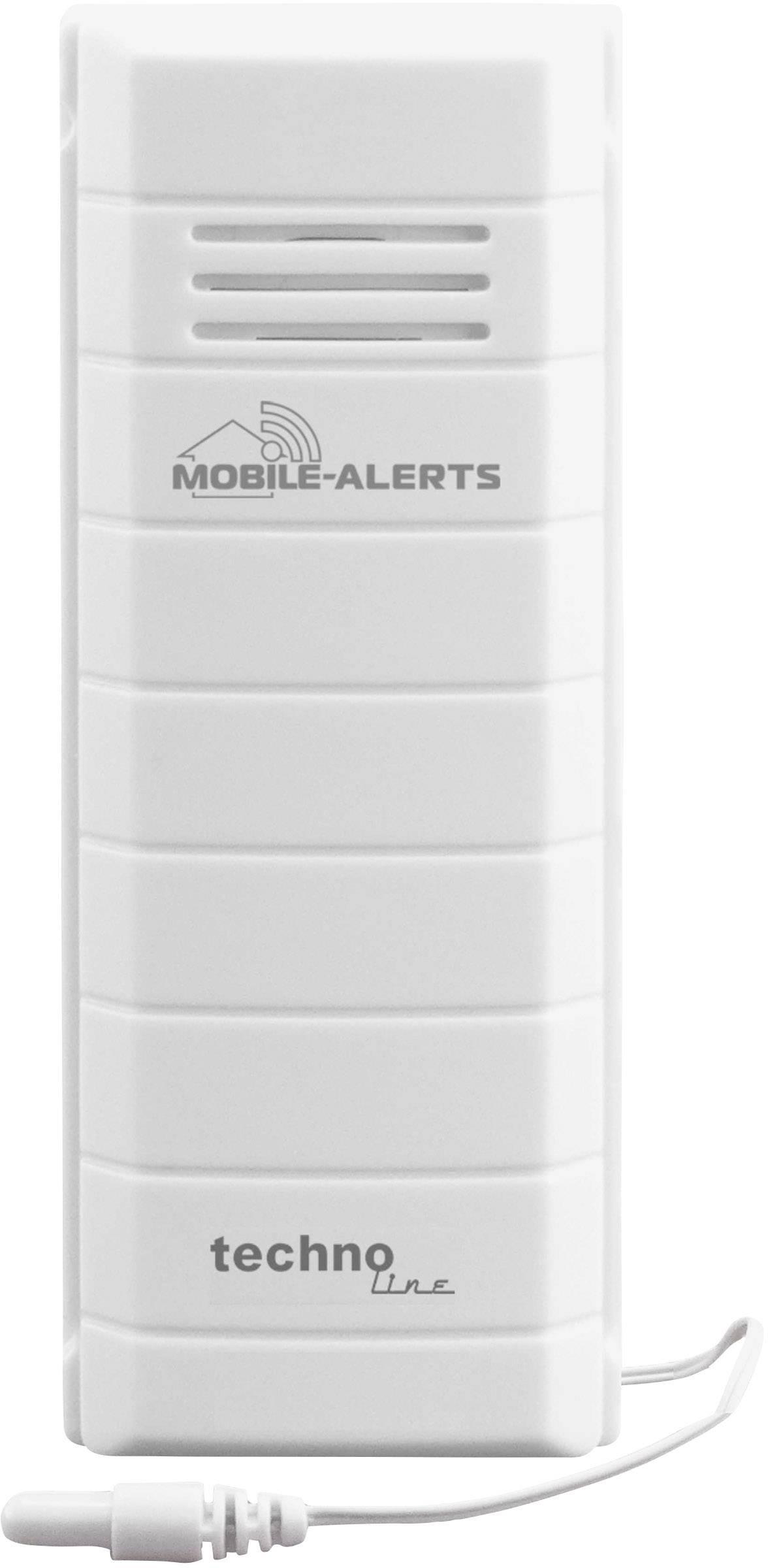 Teplotný senzor s vodeodolnou sondou pre Techno Line Mobile Alerts, MA 10101