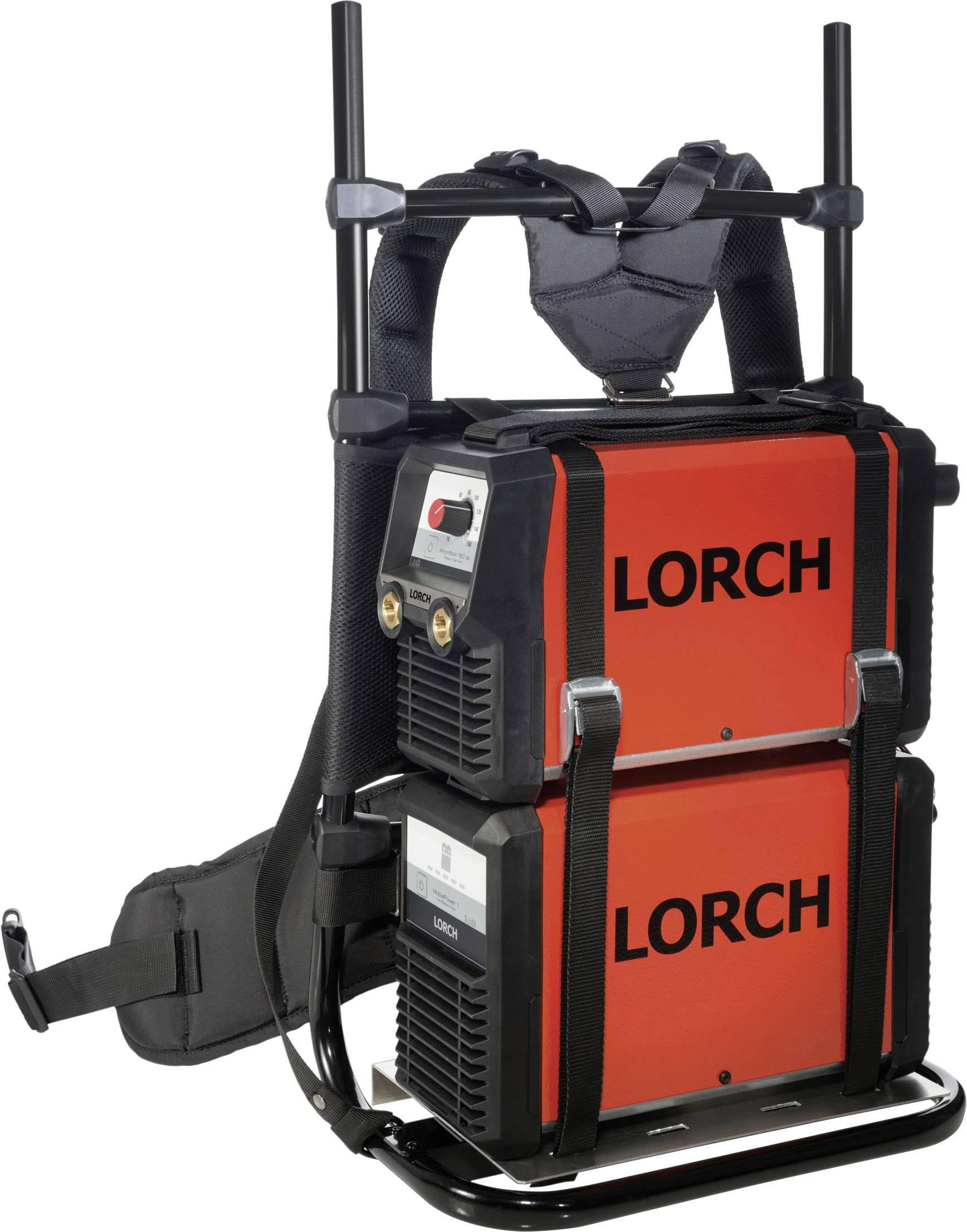 Postroj s držiakom na zváračku a náradie Lorch Weld BackPack 570.7595.4