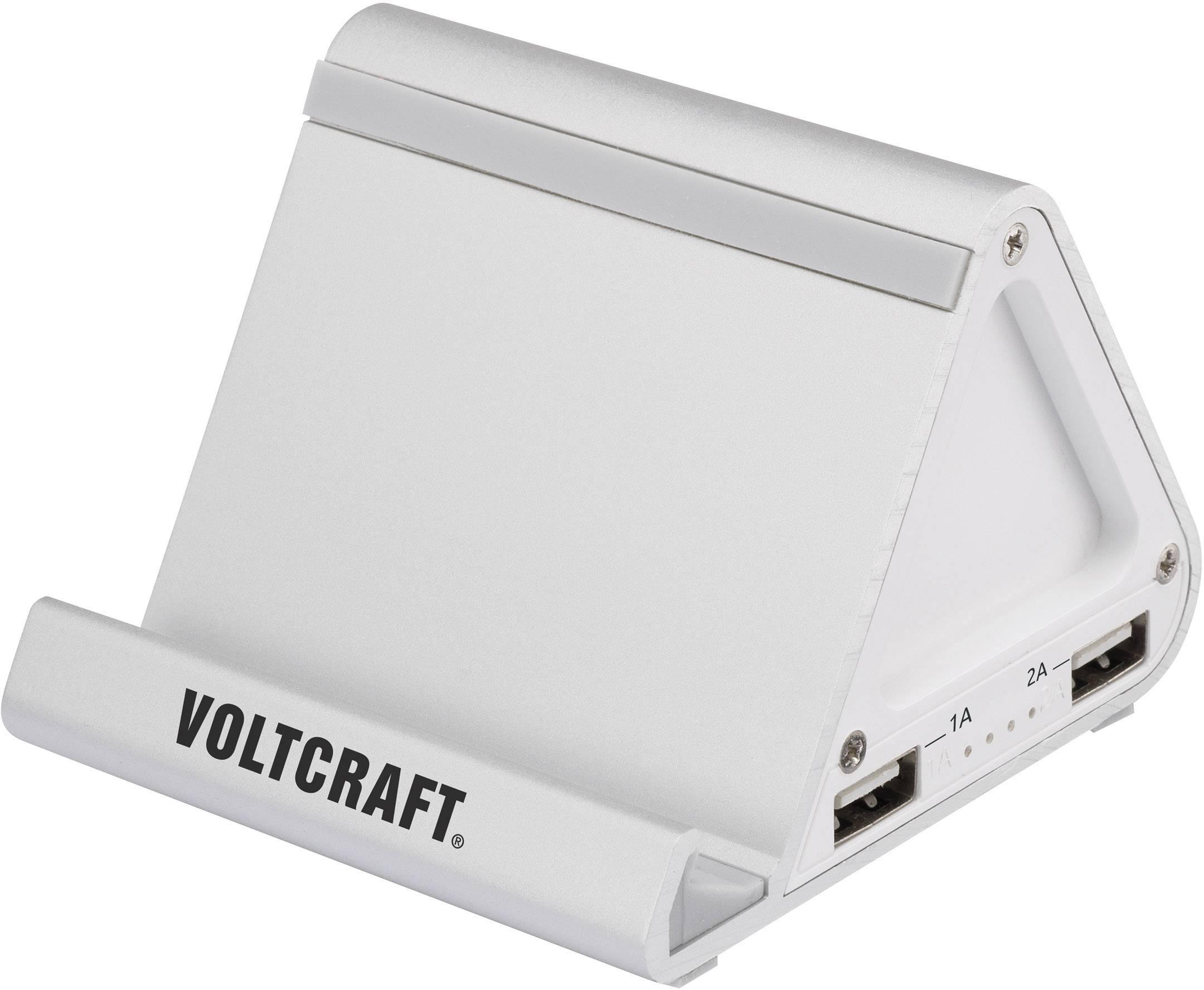 Powerbank ako stojan Voltcraft PB-10, 7800 mAh
