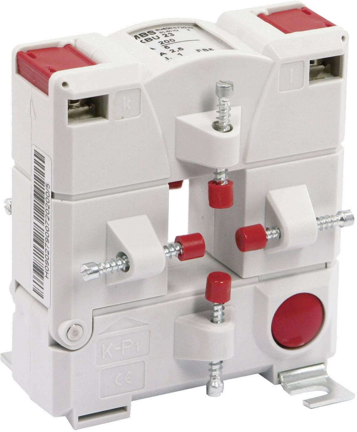 Násuvný měřicí transformátor proudu MBS KBU 23 300/5 A 3,75VA Kl.1