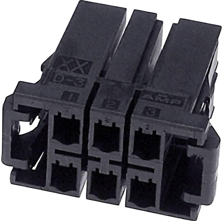 Zásuvkový konektor na kabel TE Connectivity D-3200S 3-917659-5, 37.46 mm, pólů 10, 1 ks