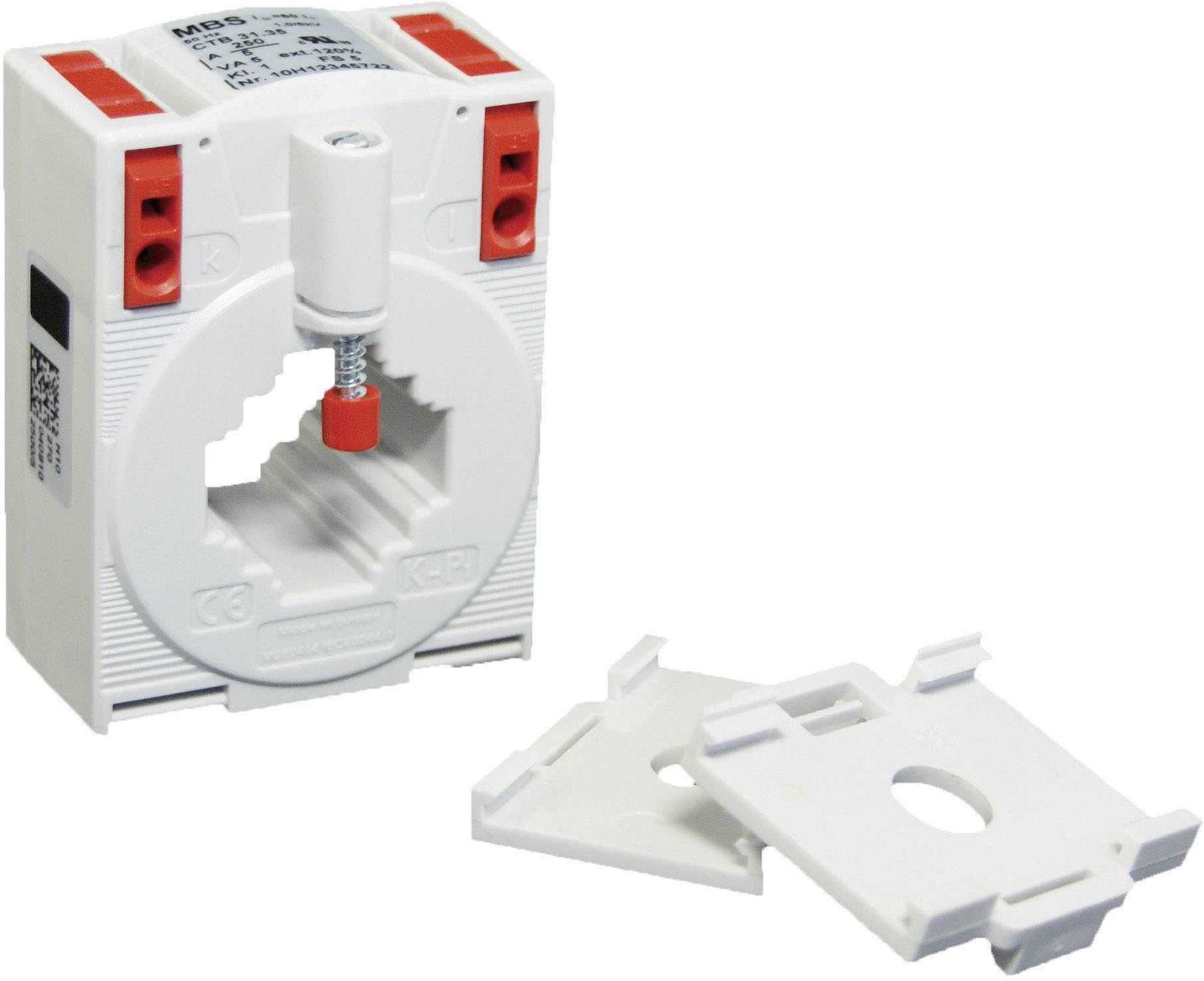 Zásuvný merací transformátor prúdu MBS CTB 31.35 75/5 A 2,5 VA Kl.1