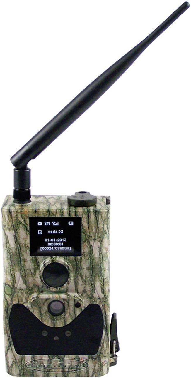 Fotopasca Berger & Schröter SG880MK14M/HD, 14 MPix, čierne LED diódy, diaľkové ovládanie, GSM modul, nahrávanie zvuku, maskáčová