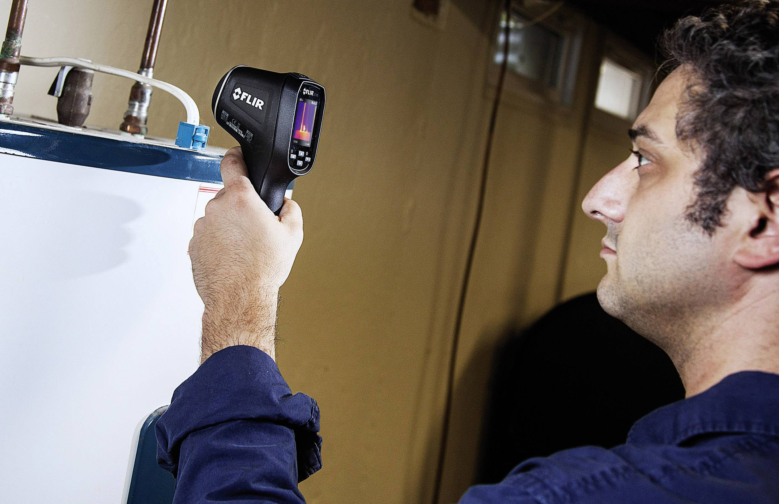Vizuální infračervený teploměr FLIR TG165, Optika 24:1, -25 až +380 °C, pyrometr