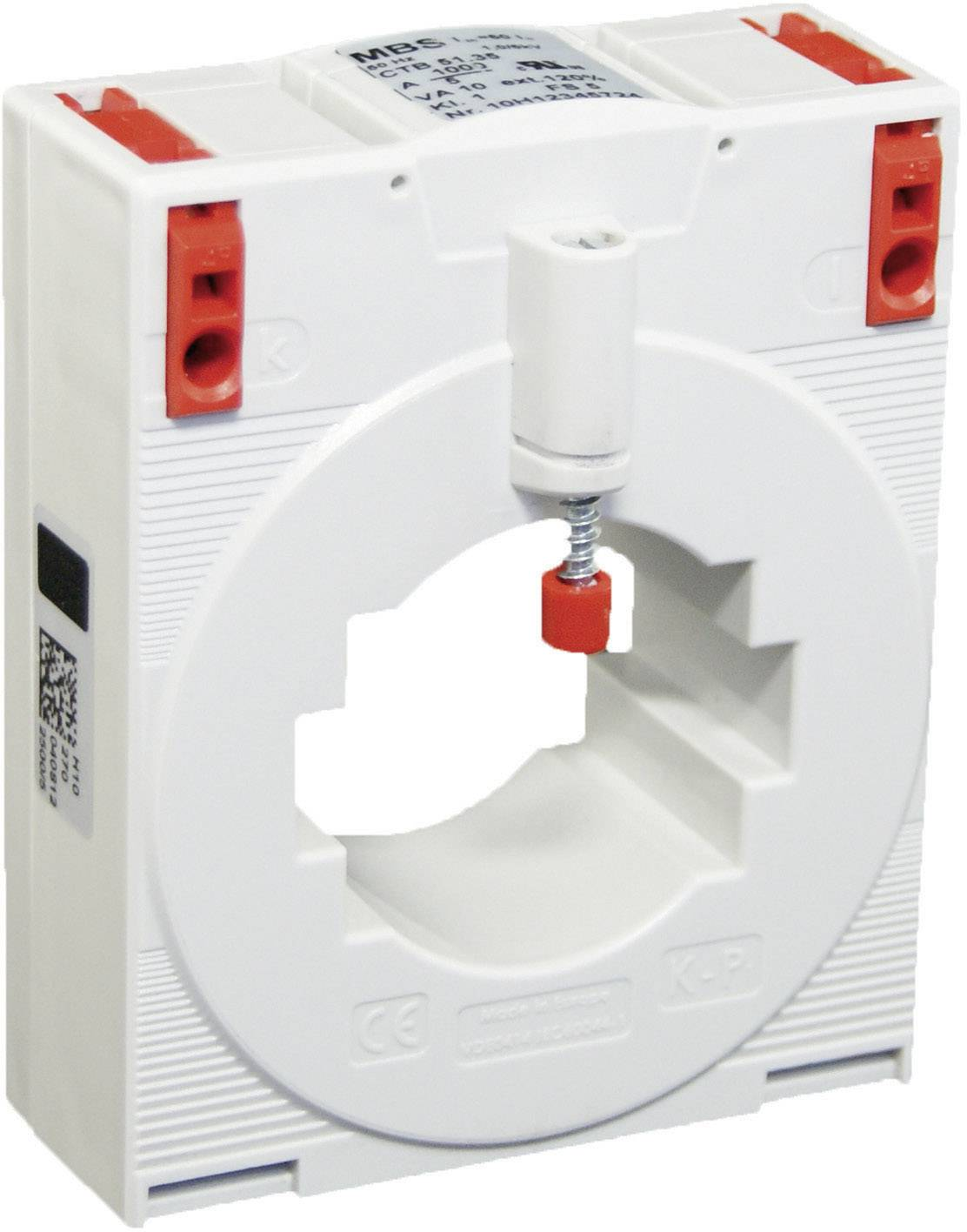 Zásuvný merací transformátor prúdu MBS CTB 51.35 750/5 A 5VA Kl.1