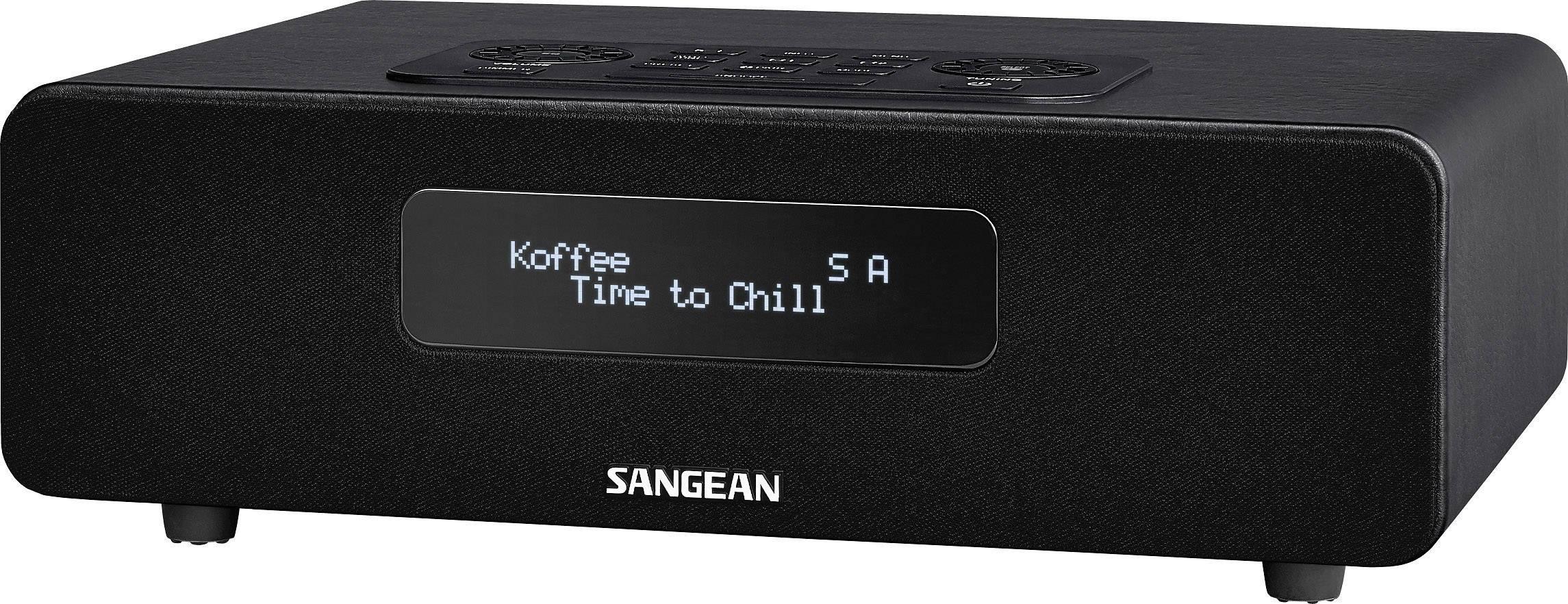 DAB+ rádio Sangean DDR-36 BT, FM, čierne