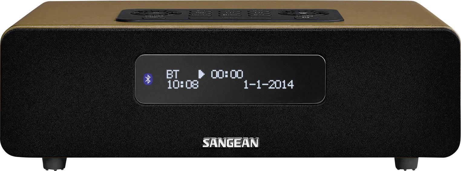 DAB+ rádio Sangean DDR-36 BT, FM, hnedé
