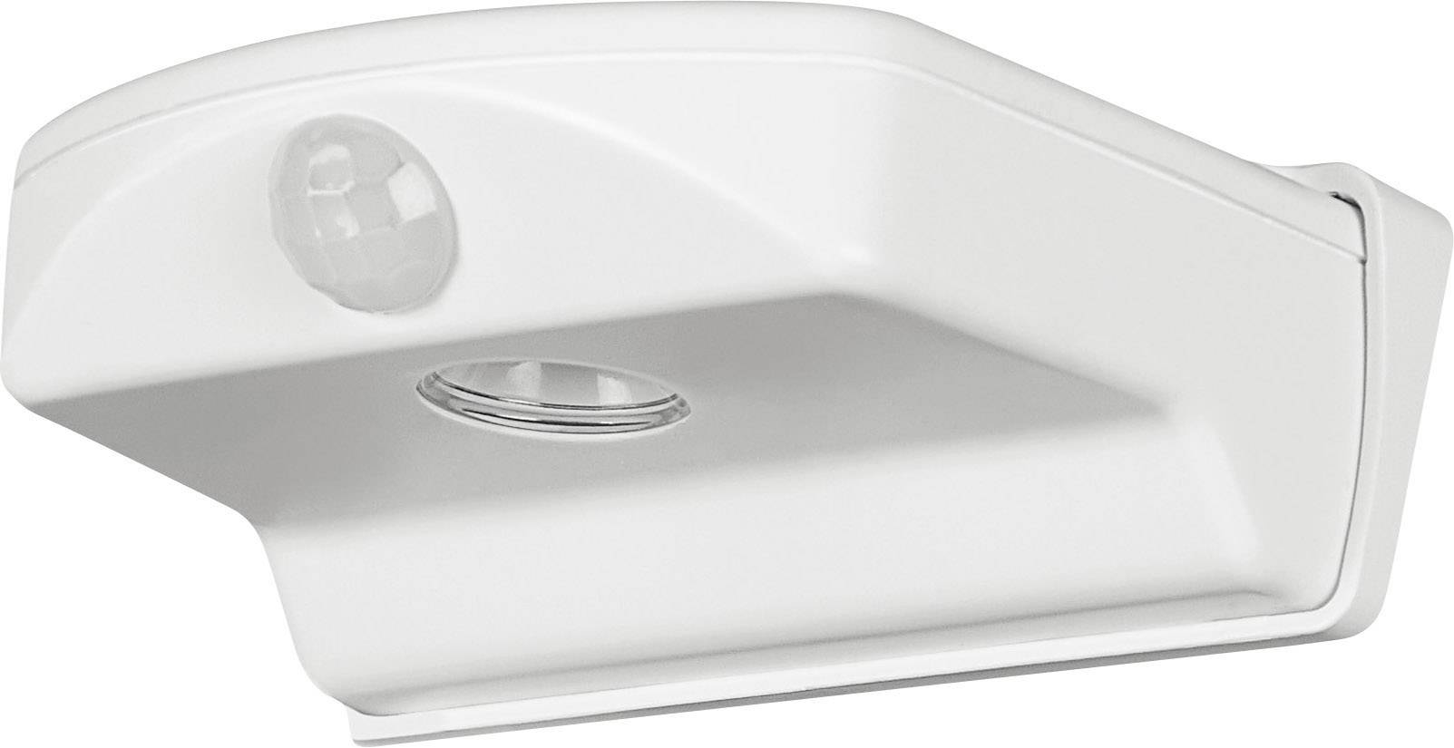 LEDvonkajšienástennéosvetleniesPIR senzorom 1.6 W chladná biela OSRAM Door 4052899196445 biela