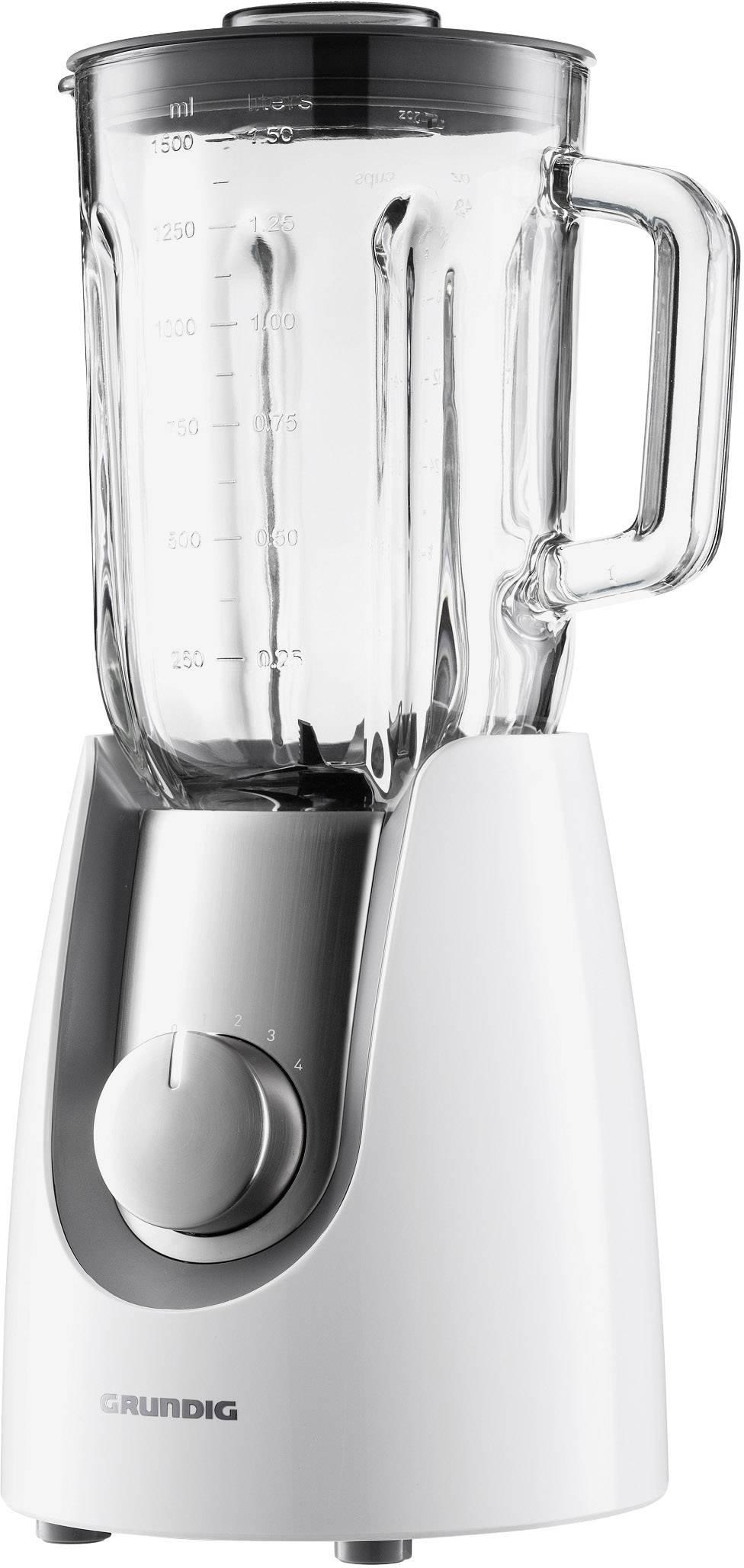 Stolní mixér Grundig SM7280w, 600 W, bílá