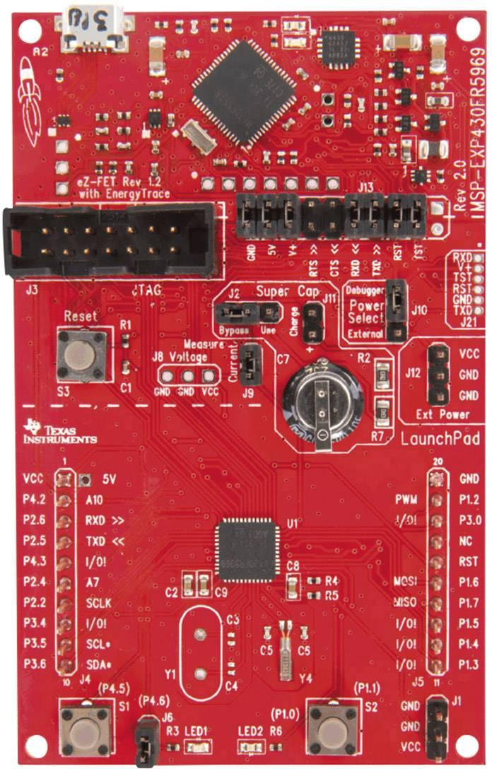 Vývojová deska Texas Instruments MSP-EXP430FR5969