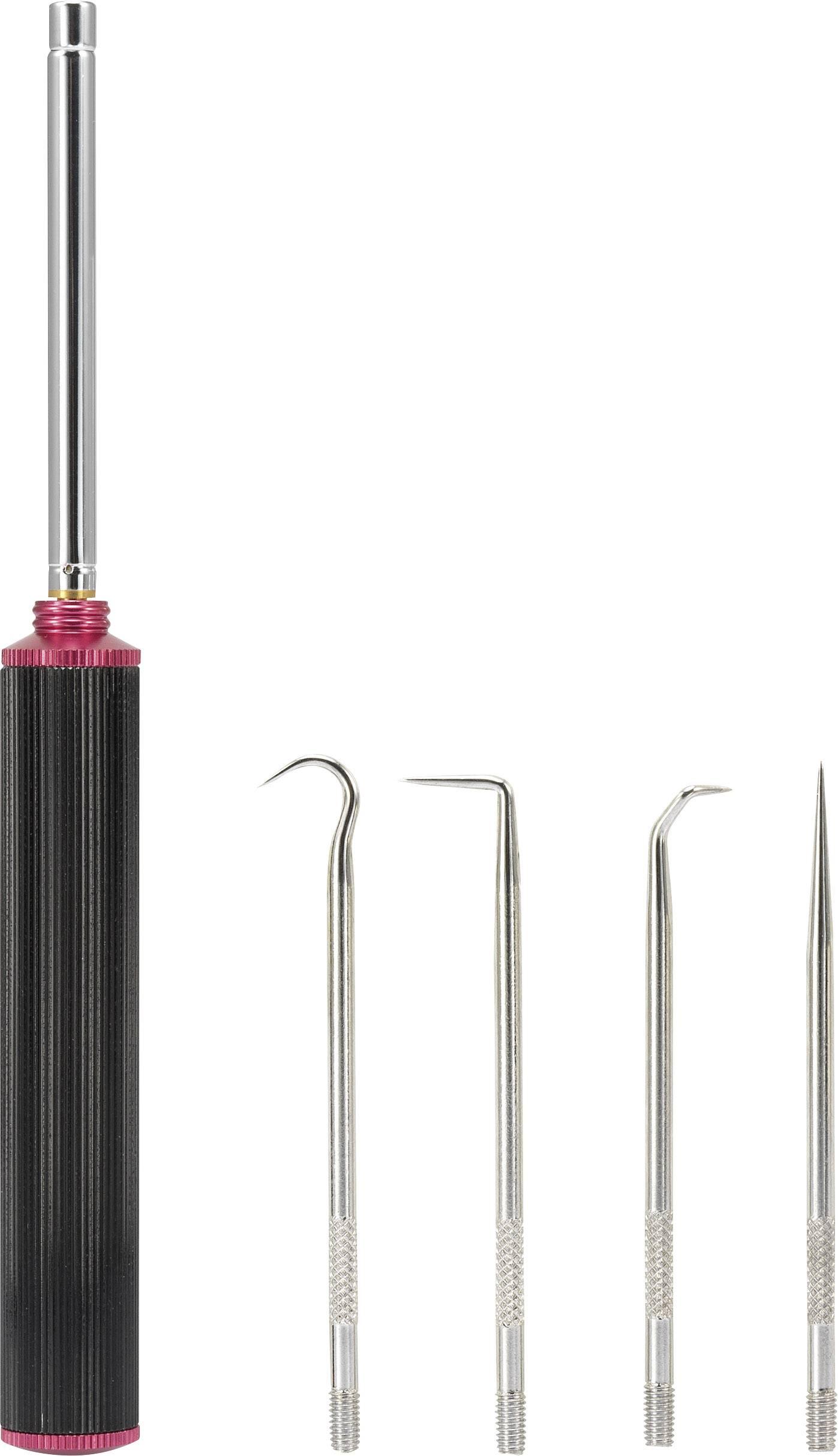 Magnetický zdvihák, TOOLCRAFT, 5 hákov v 1 sade