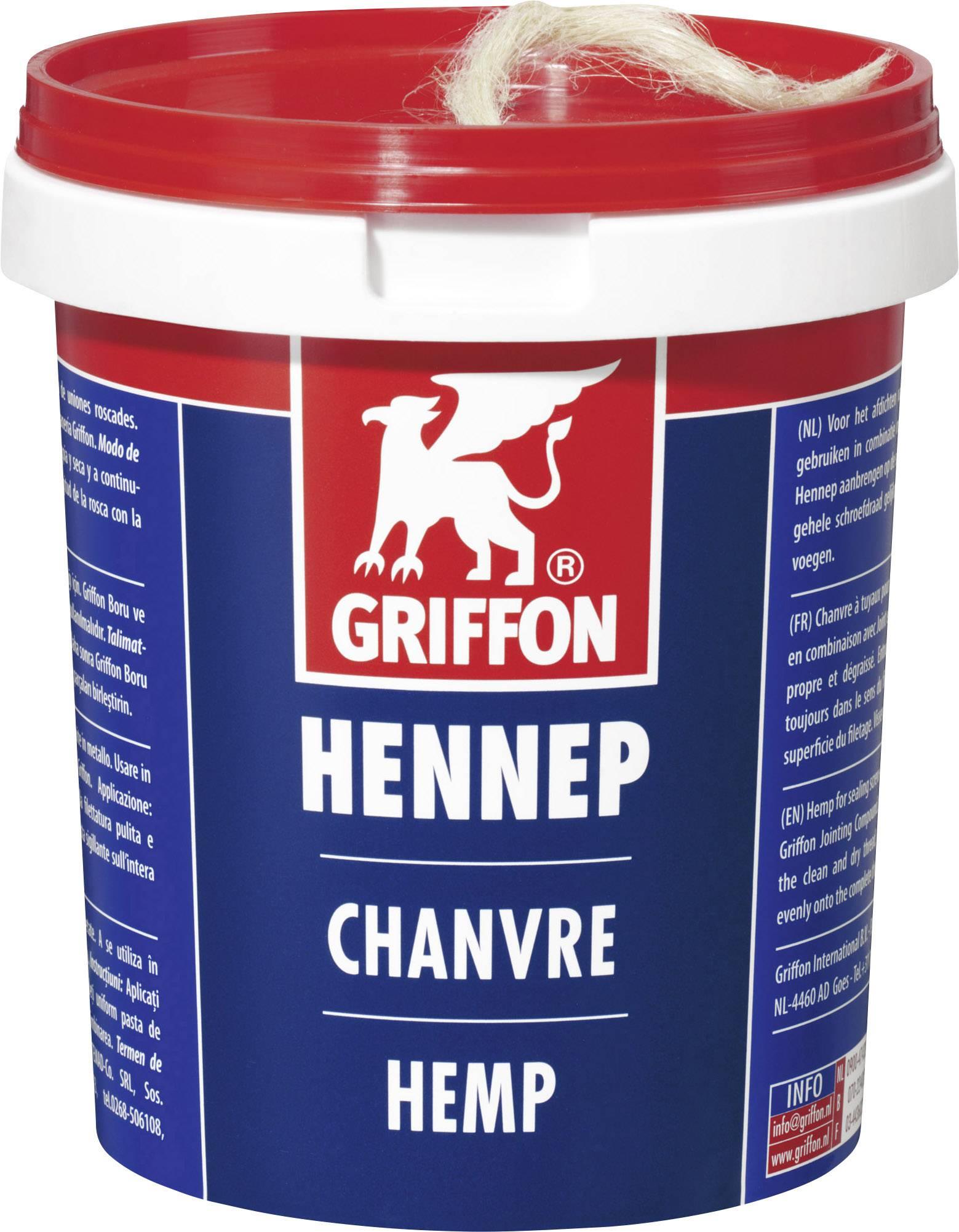 Konopné vlákno/motouz Griffon, 6150112, 100 g