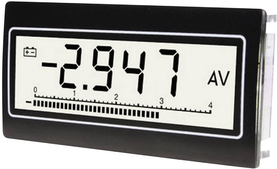 Voltmeter a ampérmeter TDE Instruments DPM-802-TW-TV, 1 mV - 300 V, 0,1 uA - 10 A