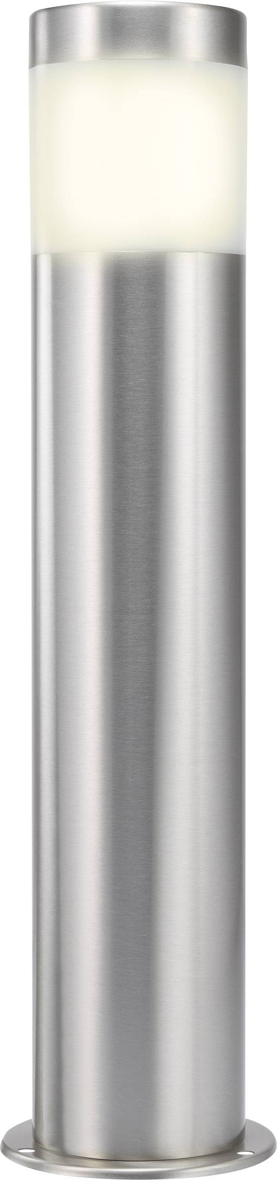 Vonkajšie stĺpové LED svietidlo RENKFORCE Riva, 10,5 W, nerez, 40 cm
