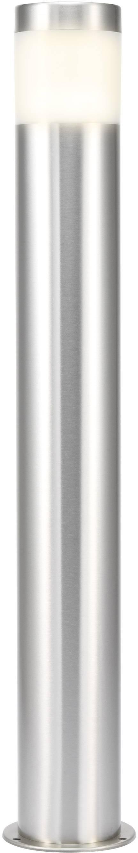 Vonkajšie stĺpové LED svietidlo RENKFORCE Riva, 10,5 W, nerez, 60 cm