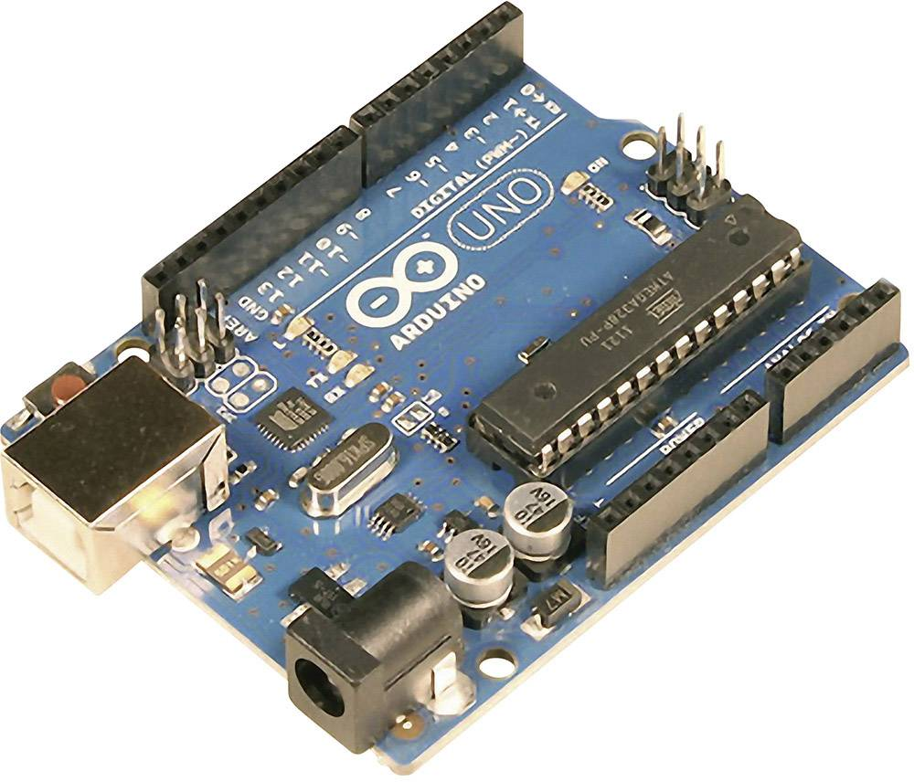 Doska Arduino Uno Rev3 - DIP Version Arduino Uno R3 DIL, ATMega328, USB, Ethernet