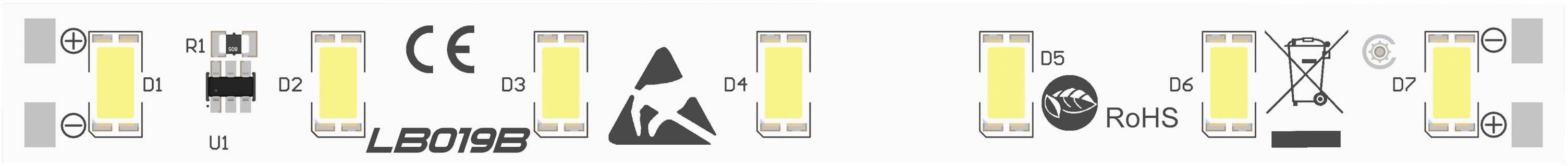 LED modul Barthelme 50751033, 120 °, 324 lm, 3.12 W, 24 V, bílá