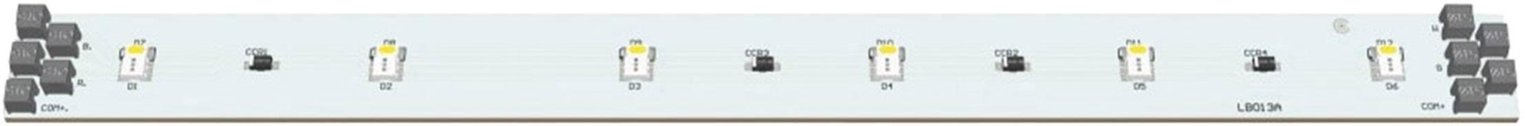 LED modul Barthelme 50752036, 120 °, 92 lm, 2.88 W, 24 V, RGB, bílá
