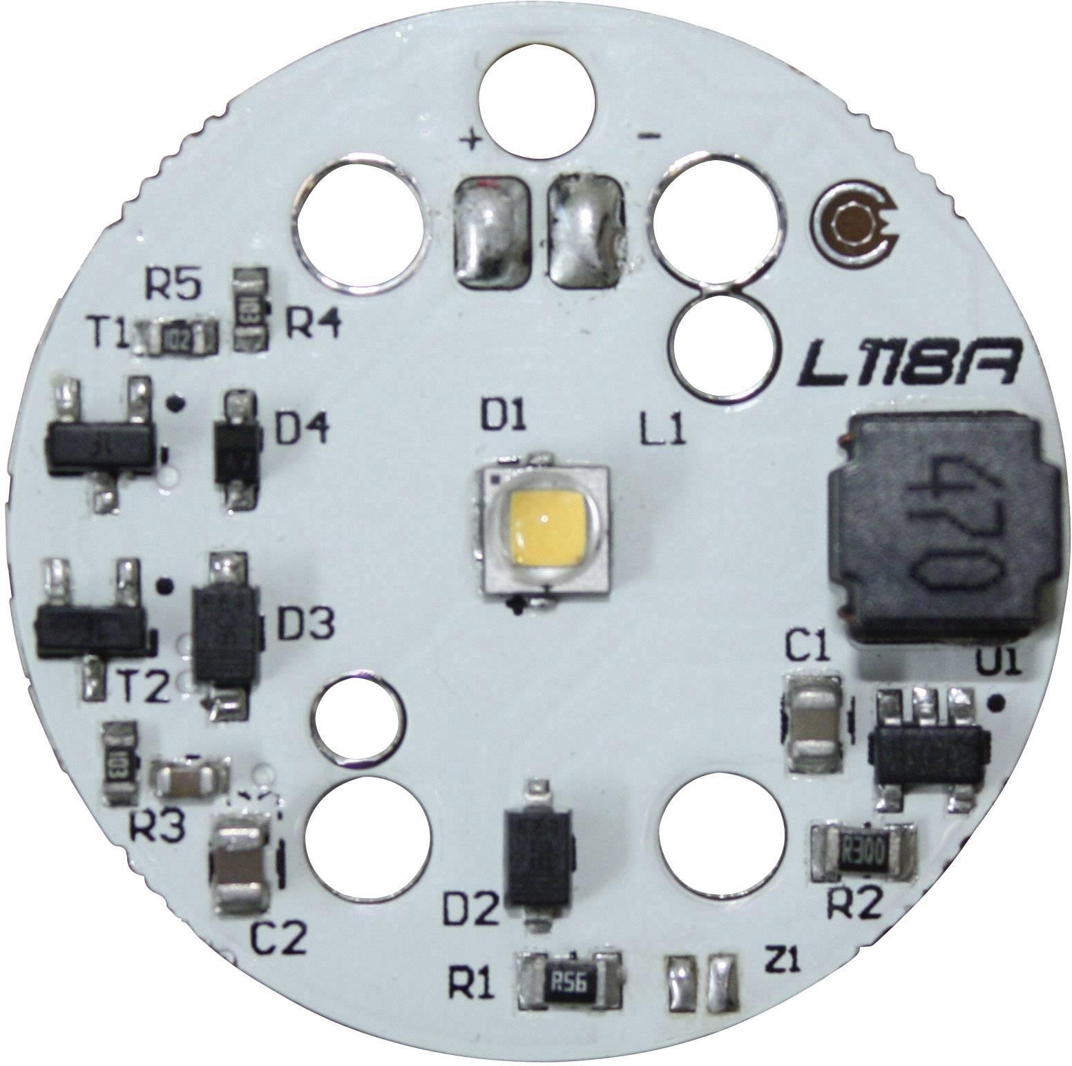 HighPower LED-čip Barthelme 4.8 W, 287 lm, teplá biela