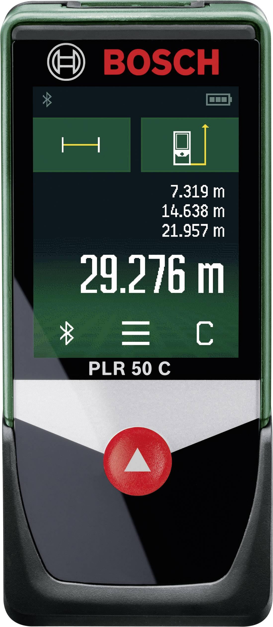 Laserový měřič vzdálenosti Bosch Home and Garden PLR 50 C 0603672200, max. rozsah 50 m