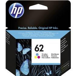 HP Inkoustová kazeta 62 originál azurová, purppurová, žlutá C2P06AE