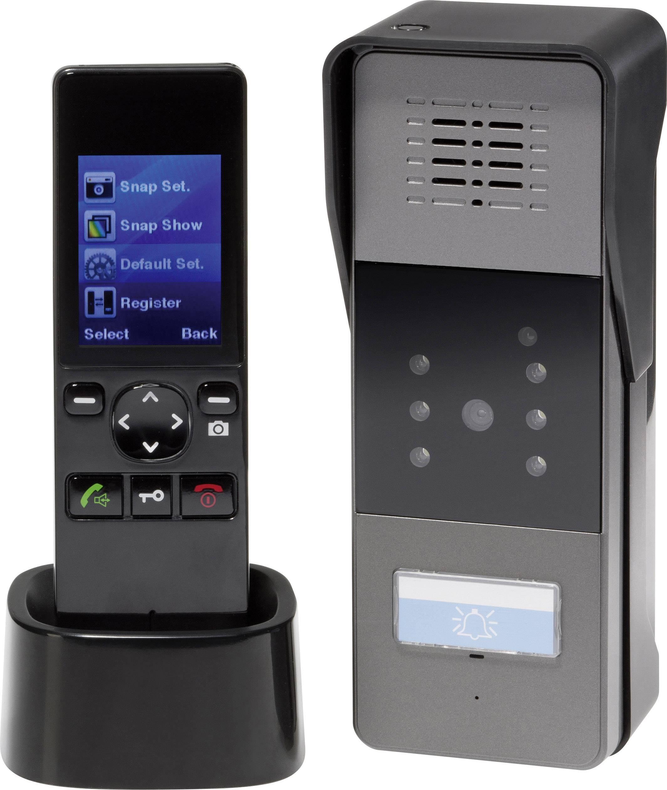 Bezdrôtový videotelefón RENKFORCE, 1 rodina