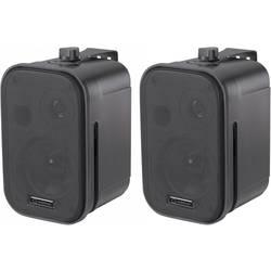 """Pasivní studiové monitory Renkforce Control 150, 9.3 cm (3.75 """"), 20 W, 1 pár, černá"""