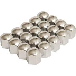 Čiapočky na skrutky kolies HP Autozubehör 82922, 19 mm, chróm, kov