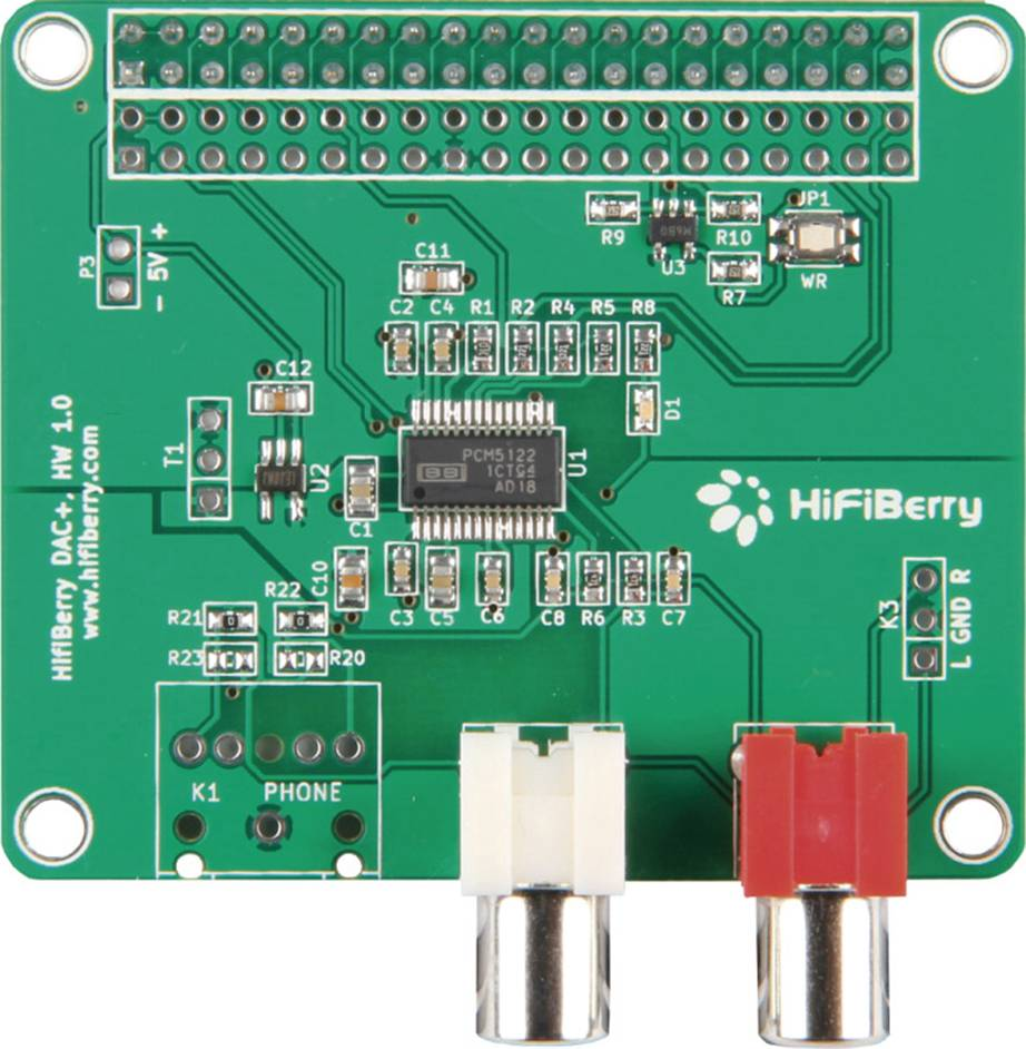 Rozšiřující deska Raspberry Pi B++ RB-Hifiberry2