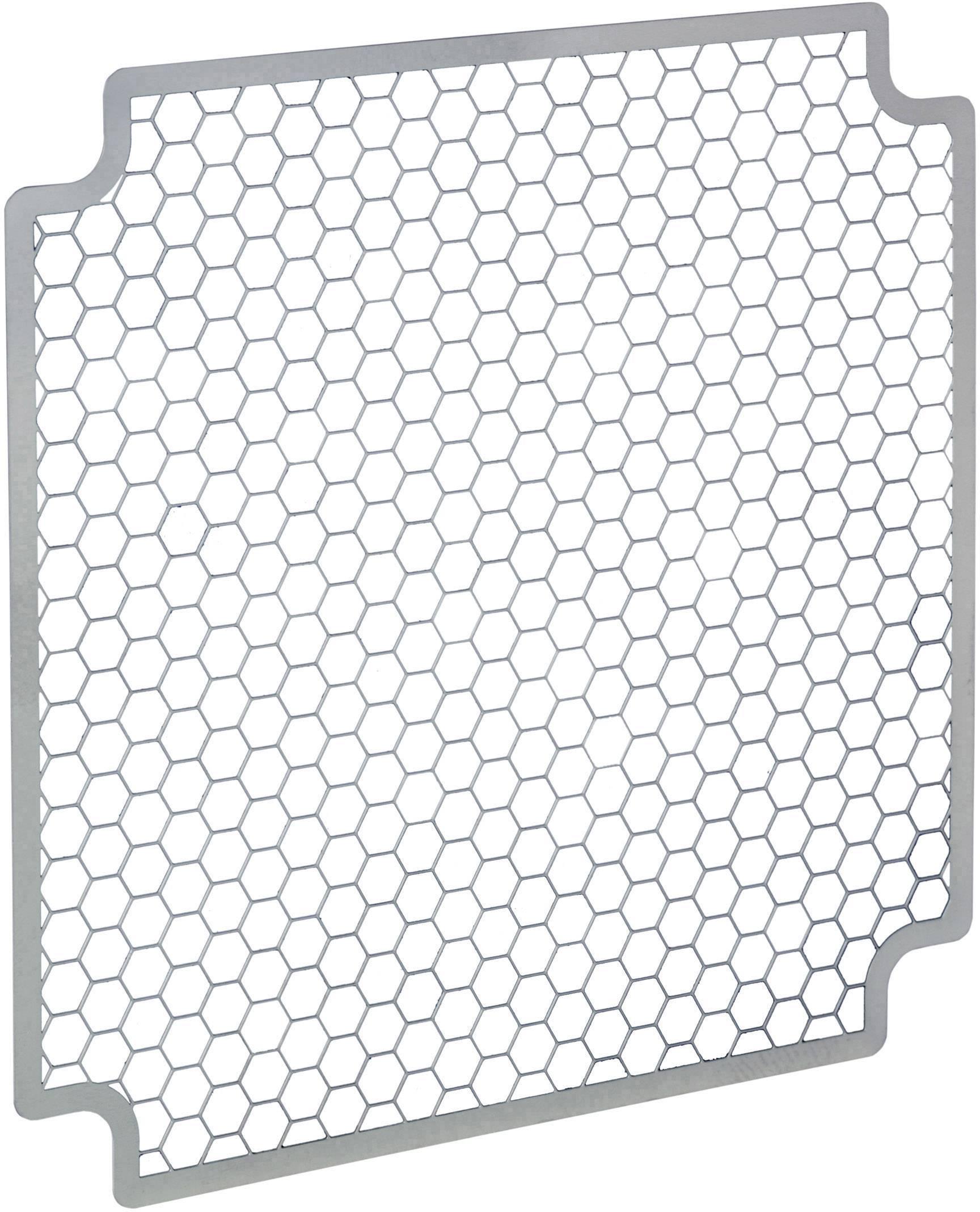 EMC stínicí mřížka SEPA;931210301, (š x v x h) 121 x 0.5 x 121 mm, 1 ks, nerezová ocel
