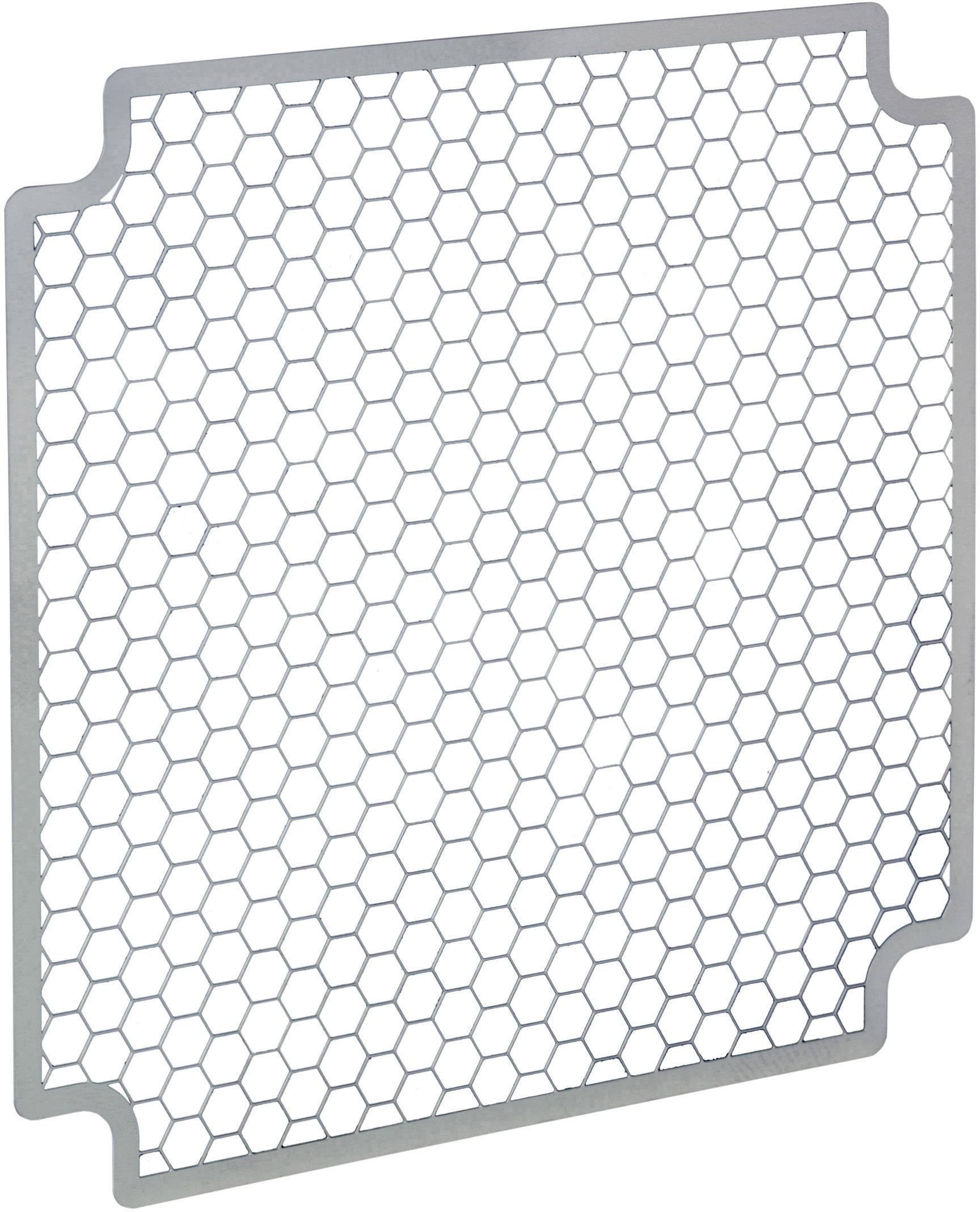 EMC stínicí mřížka SEPA;934010301, (š x v x h) 42 x 0.5 x 42 mm, 1 ks, nerezová ocel