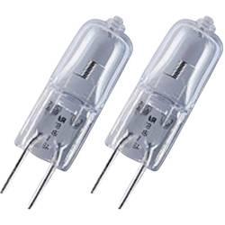 ECO halogénová žiarovka OSRAM 12 V, G4, 7 W, en.trieda: C (A ++ - E), teplá biela, 2 ks