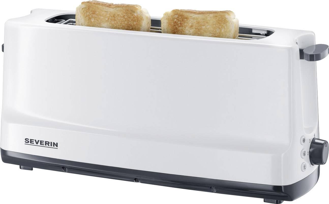Topinkovač s vestavěnou funkcí ohřívání pečiva Severin AT 2232, bílá