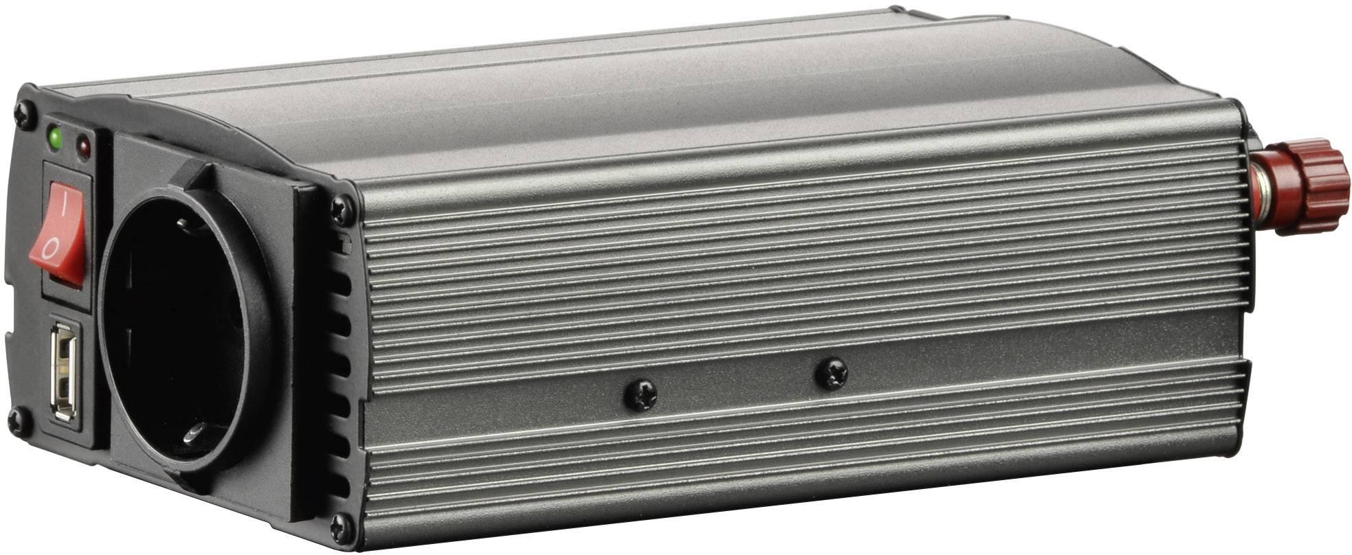 Menič napätia Voltcraft MSW 300-12-G USB, 12 V/DC, 300 W