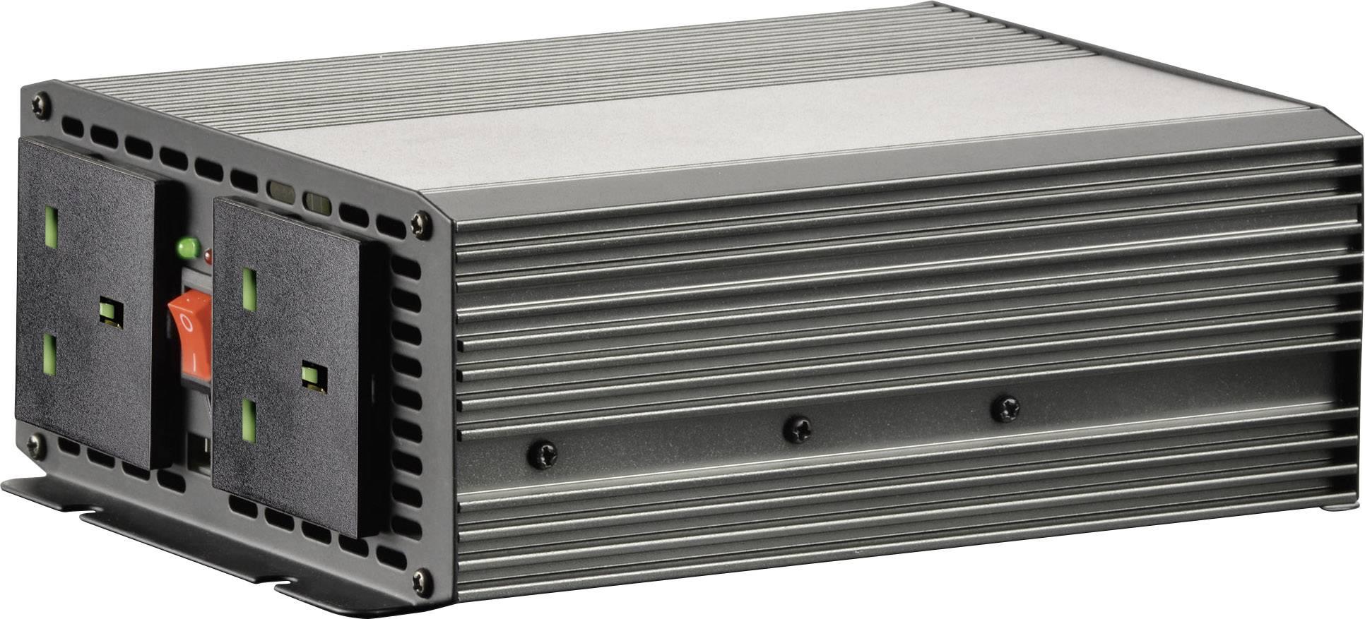 Měnič napětí VOLTCRAFT MSW 700-12-UK, 700 W, 12 V/DC/230 V/AC, 700 W