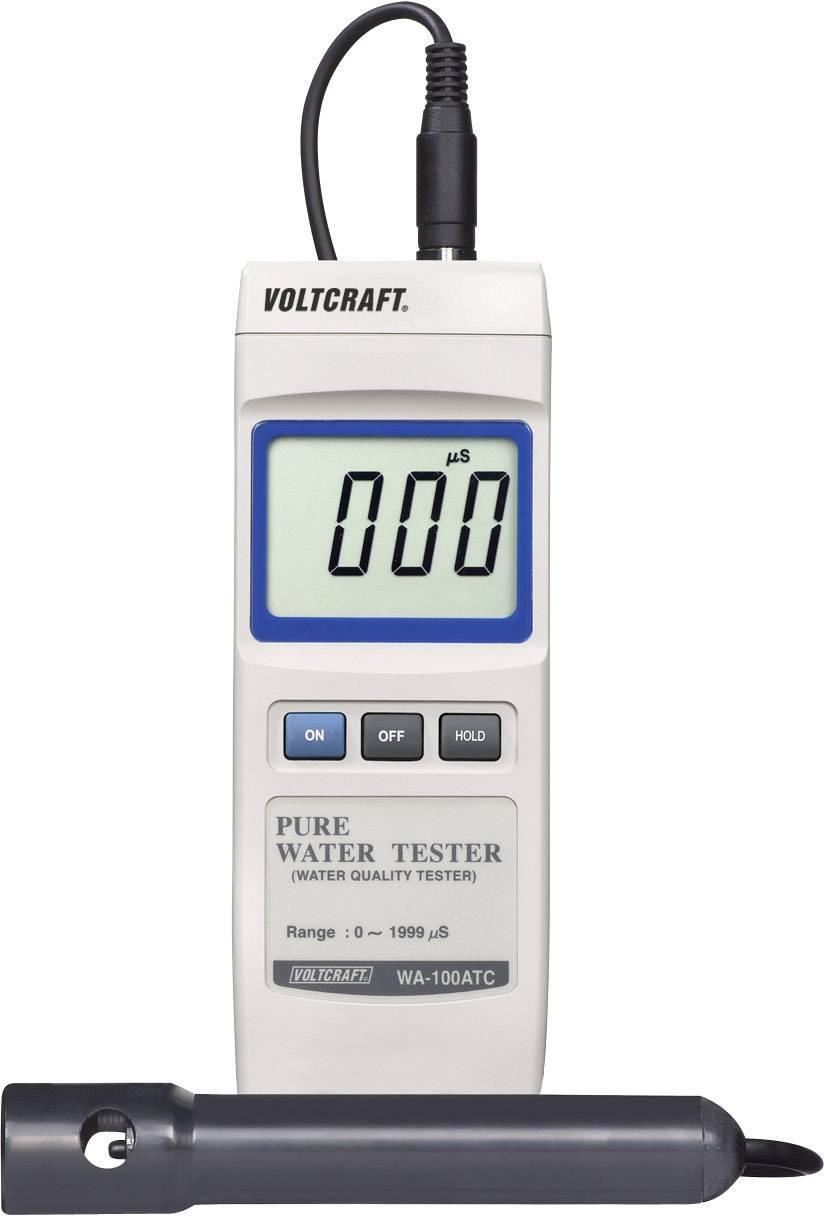 Měřič vodivosti Voltcraft WA-100 ATC, 0-1999 uS/cm
