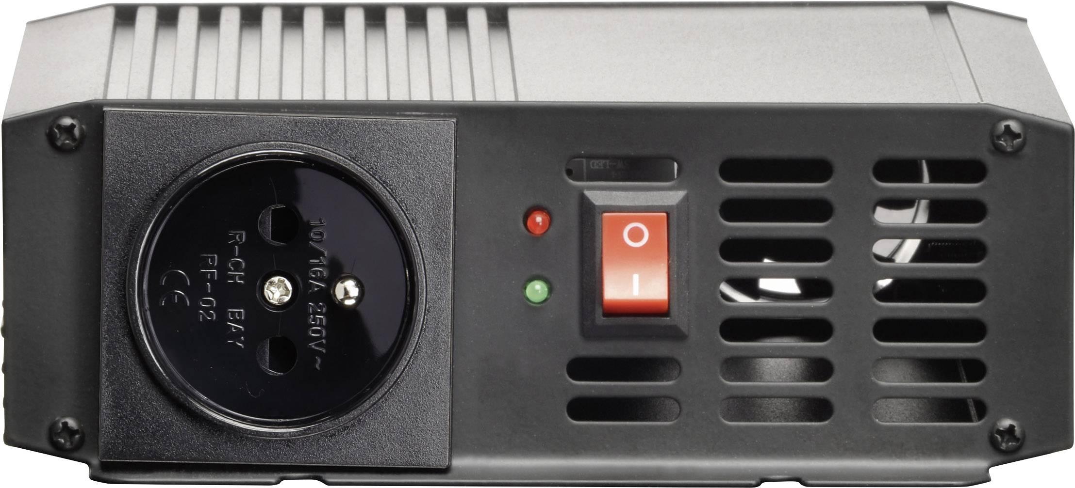 Měnič napětí Voltcraft PSW 300-24-F, sinusový průběh