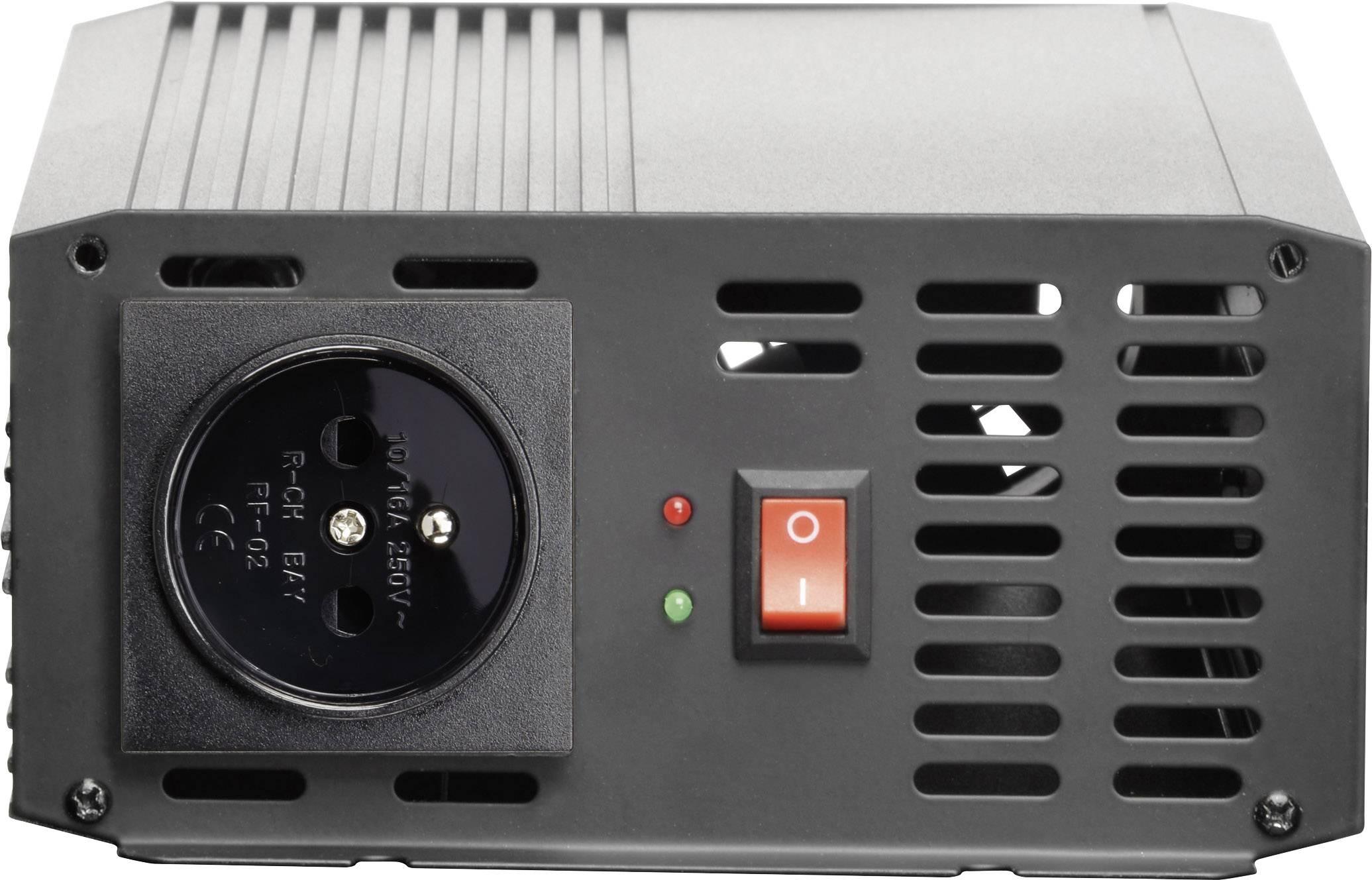 Měnič napětí Voltcraft PSW 1200-12-F, sinusový průběh