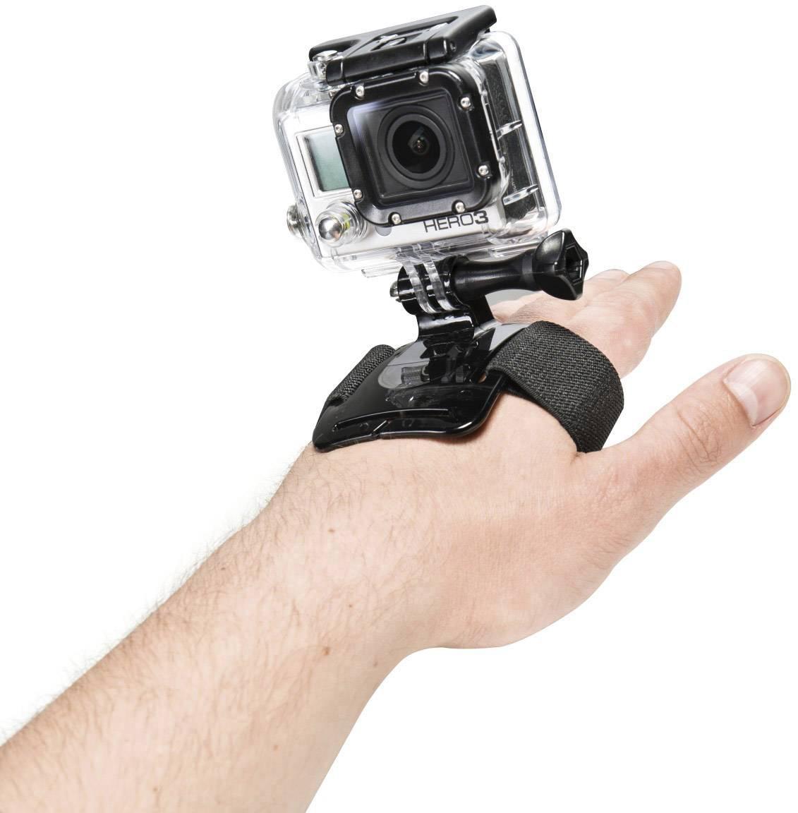 Držiak akčnek kamery s popruhom na ruku Mantona 20238 20238 vhodné pre GoPro