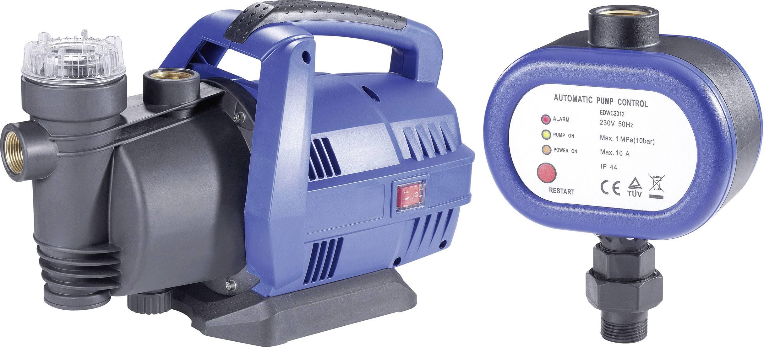 Záhradné čerpadlo + el.tlakový spínač ZADARMO Renkforce 3300 l/h, 38 m