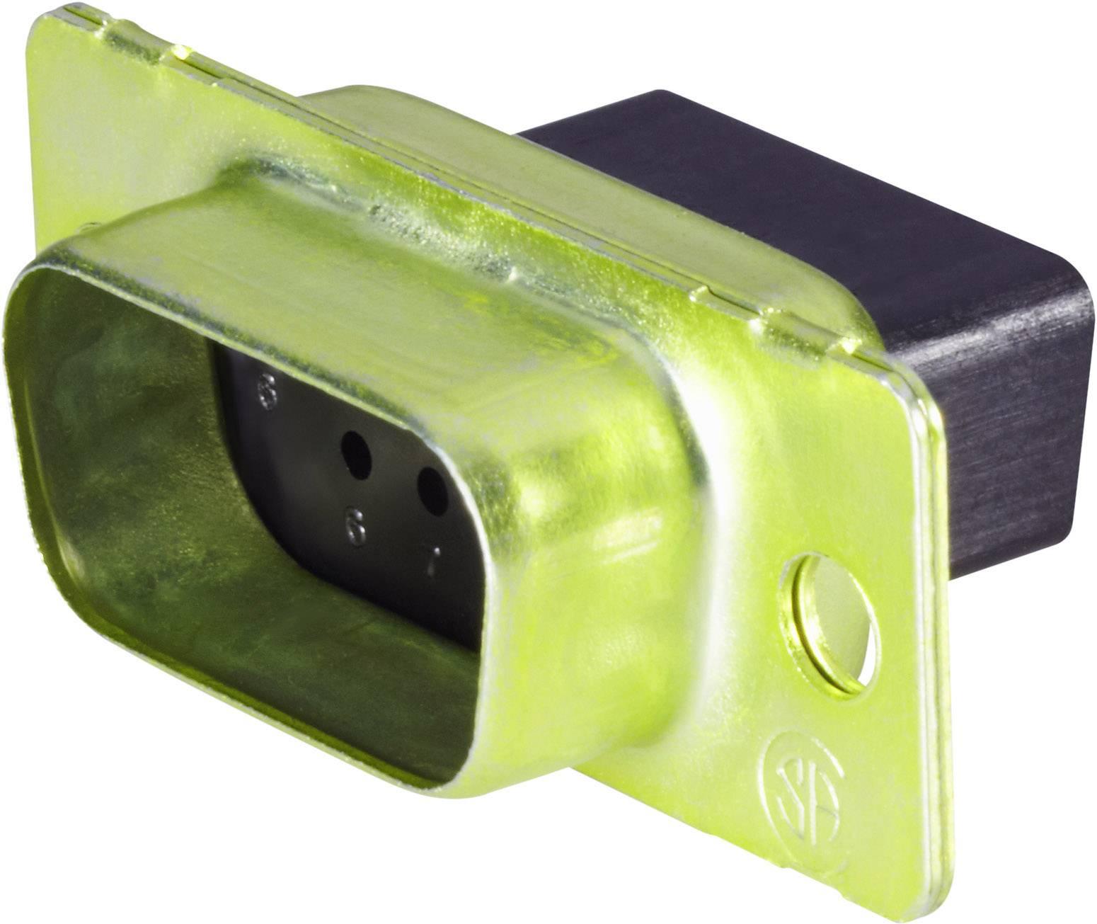 D-SUB kolíková lišta TE Connectivity AMPLIMITE HD-20 (HDP-20), 180 °, počet pinov 9, 1 ks