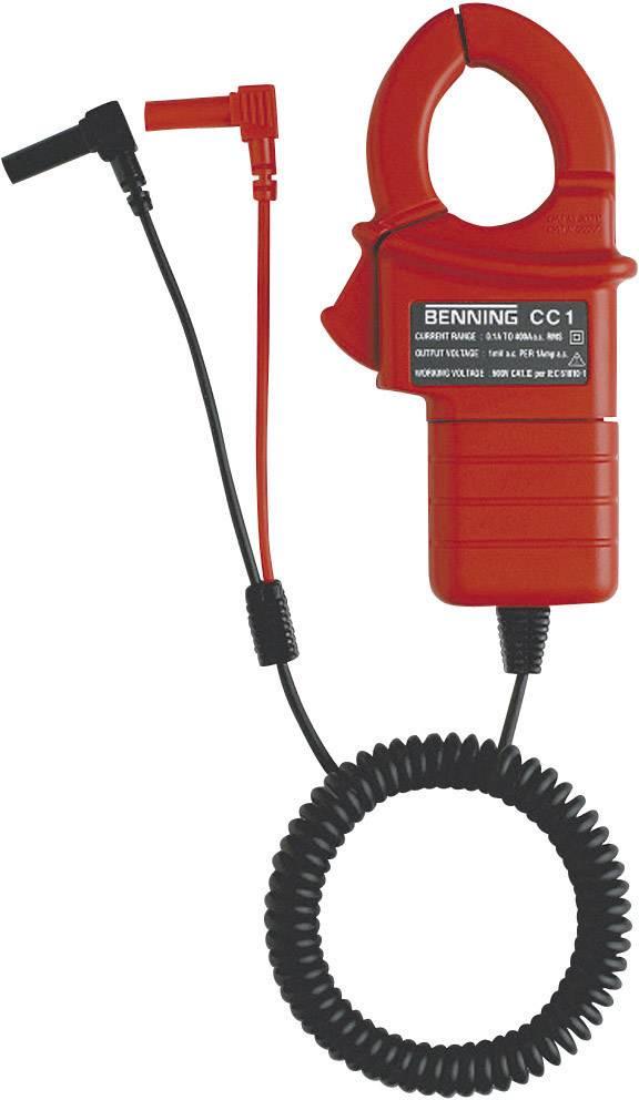 Klešťový proudový adaptér Benning CC 1, kalibrováno dle ISO